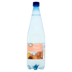 Morrisons Sparkling Spring Water Peach-0