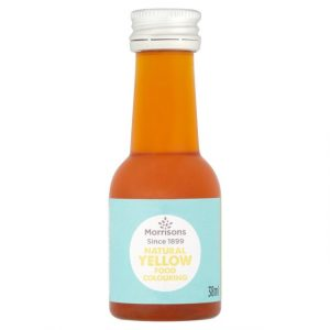 Morrisons Food Colouring Yellow-16320