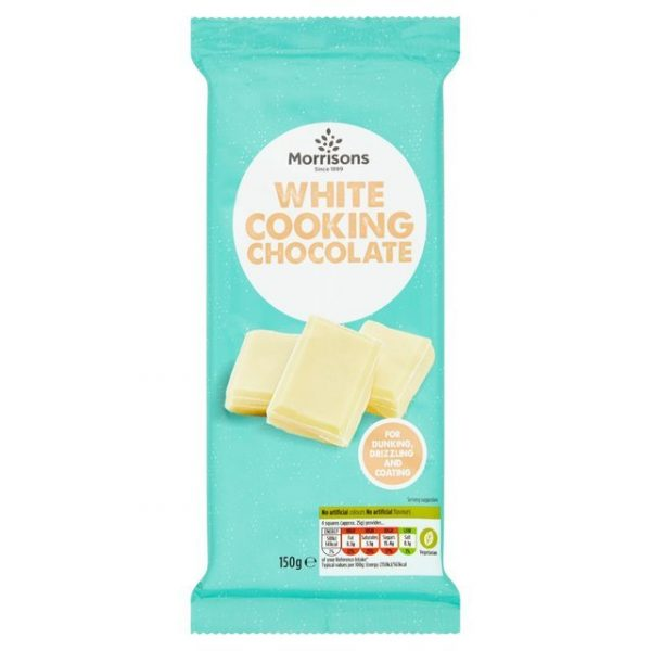 Morrisons Cooking White Chocolate-16295