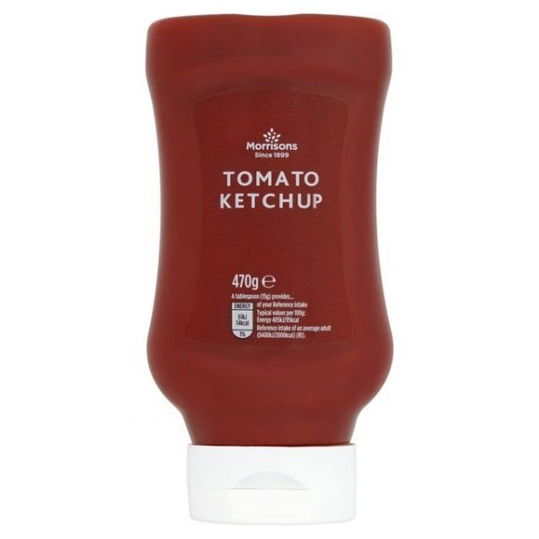 Morrisons Squeezy Tomato Ketchup-0