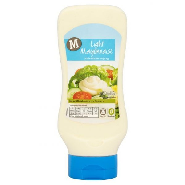 Morrisons Squeezy Light Mayonnaise-0