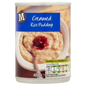 Morrisons Creamed Rice Pudding-16236