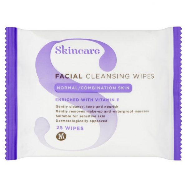 Morrisons Normal Combination Skin Wipes-15009