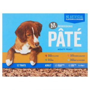Morrisons Multipack Pate for Dogs