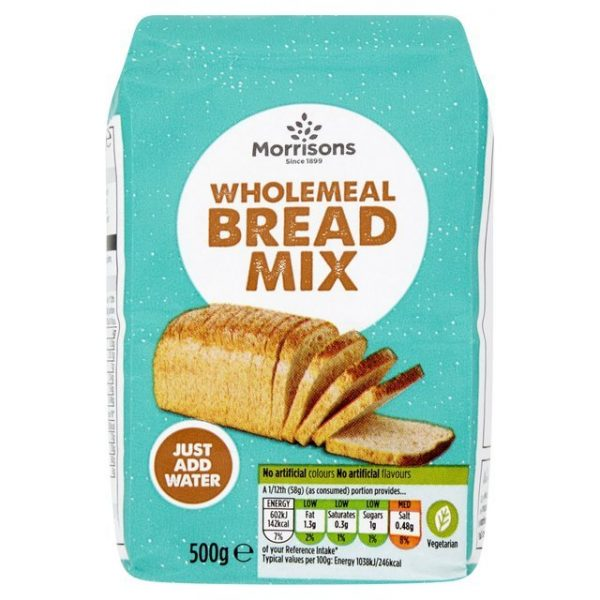 Morrisons Crusty Wholemeal Bread Mix-17145