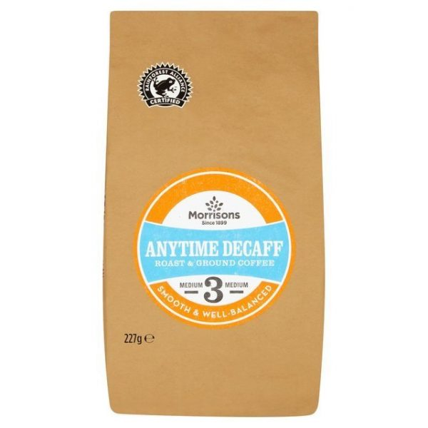 Morrisons Anytime Decaff Ground Coffee-20425