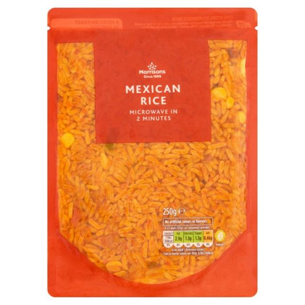 Morrisons Mexican Micro Rice-0