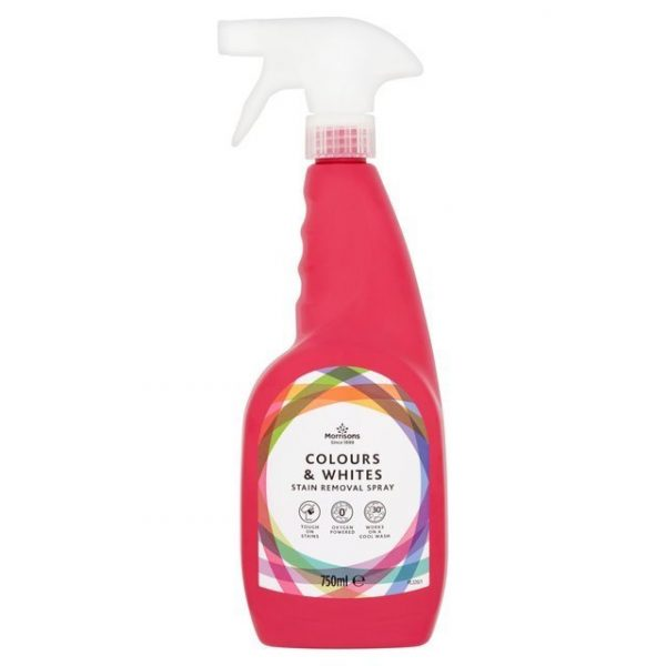 Morrisons Colours & Whites Stain Removal Spray-0